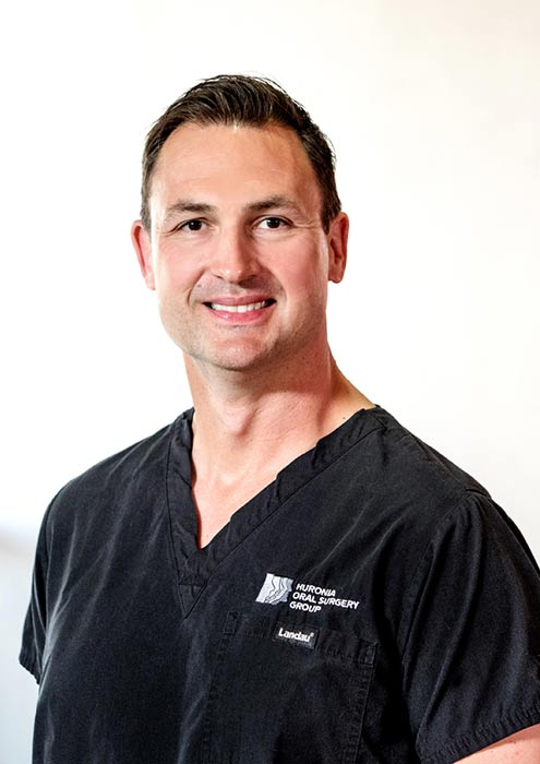 Andrew P. Gater, HBSc, DDS, FRCD (C), in Barrie, Ontario L4N 8J6